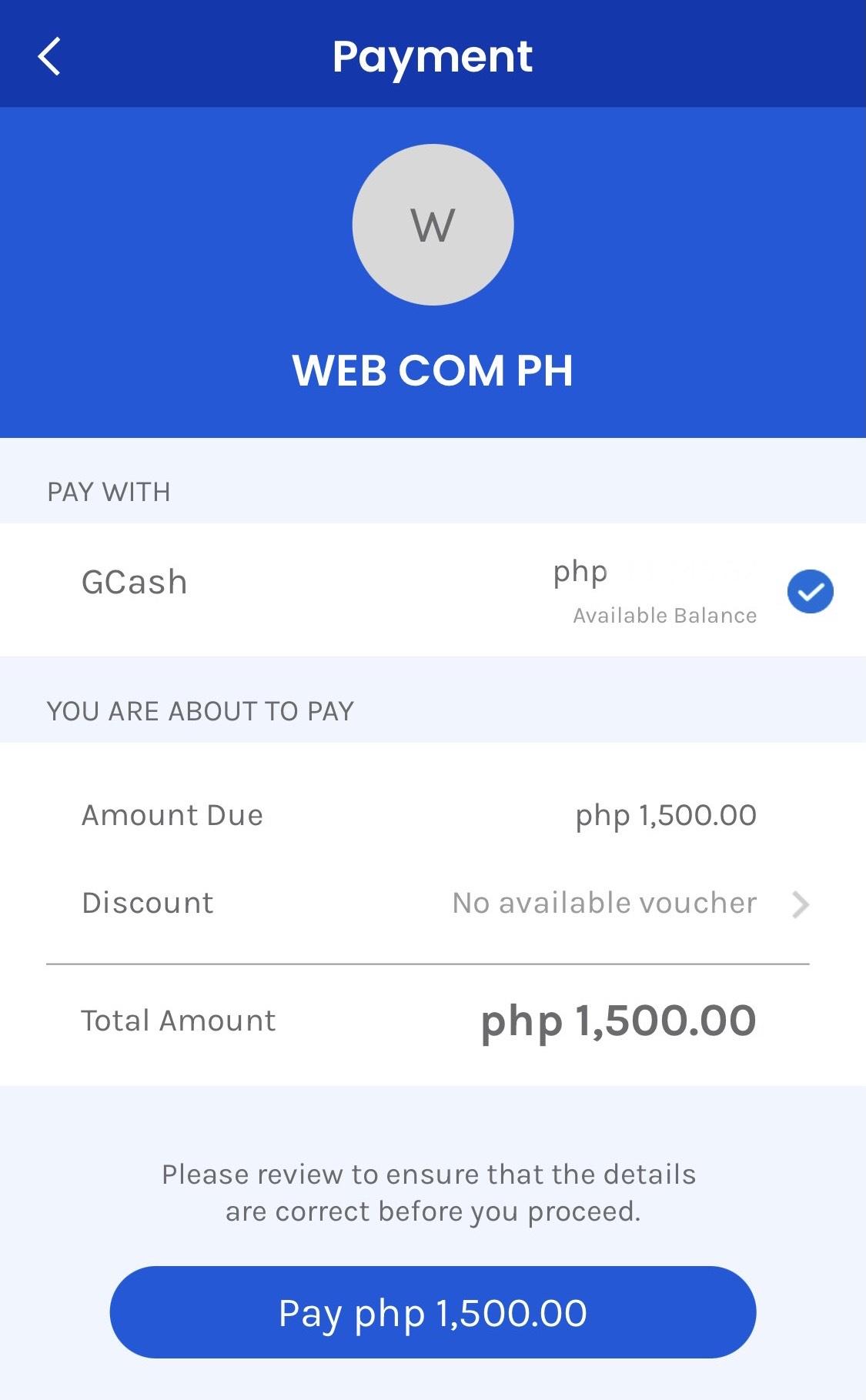 Send Payment