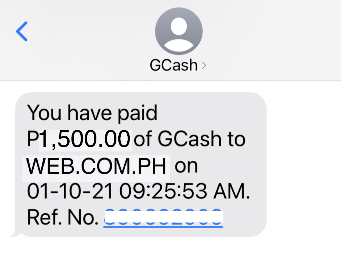 GCash TXT
